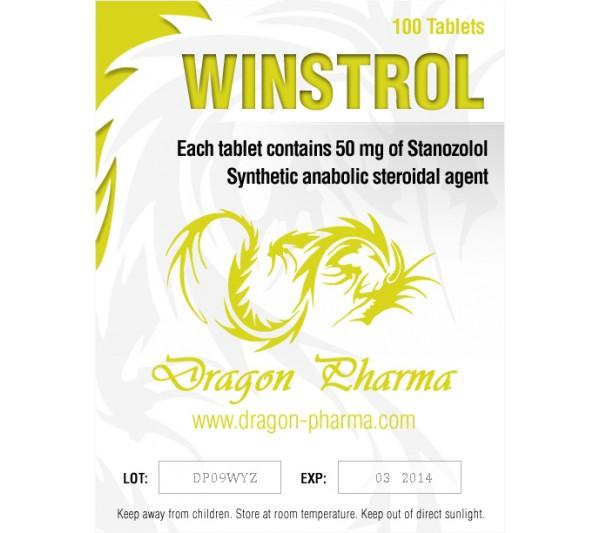 Winstrol pastillas 50 mg